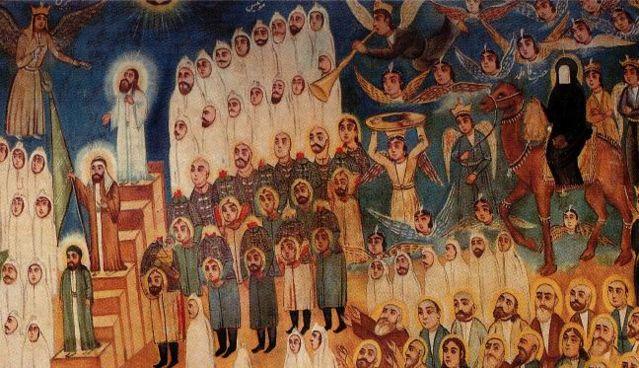 神圣的顶上圆光 ― 世界各宗教神仙圣贤图[转载] - 慧眼 - 慧眼看世界